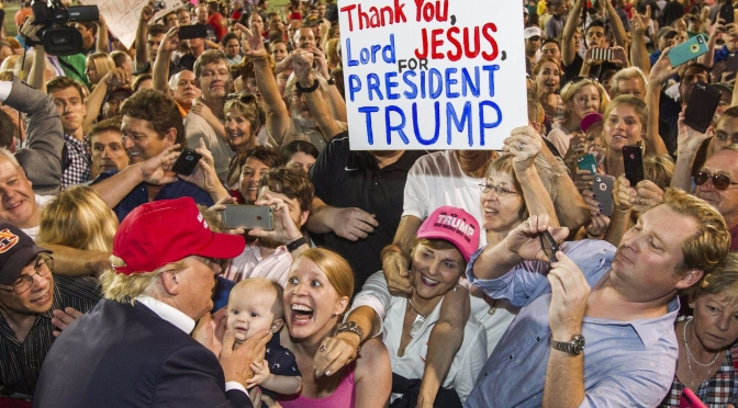 Christian Trump Supporters, How Can You Be OK With This?
