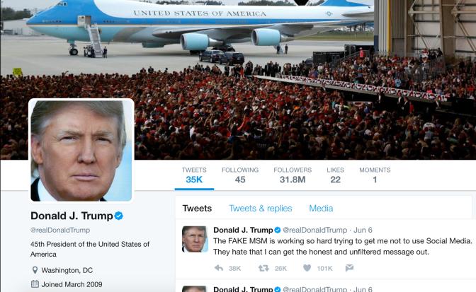 Nobody Likes Trump's Twitter