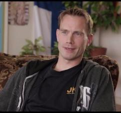 David Sagen. Screenshot from Visjon Norge.