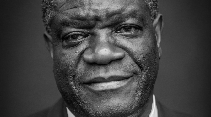 Pentecostal Nobel Peace Prize Winner Denis Mukwege Gives Glory to God
