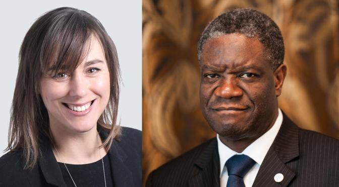 "Pentecostal Nobel Prize Laureate Denis Mukwege is ""Accepted in All Camps"""
