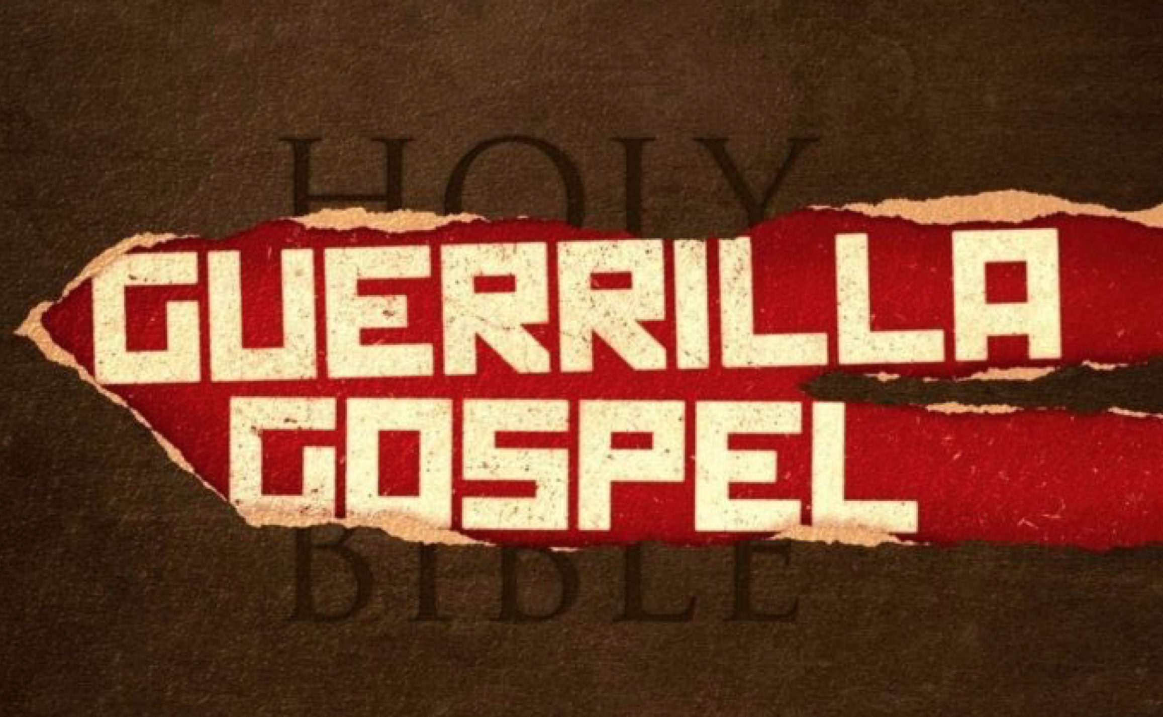 New Book: Guerrilla Gospel by Bob Ekblad