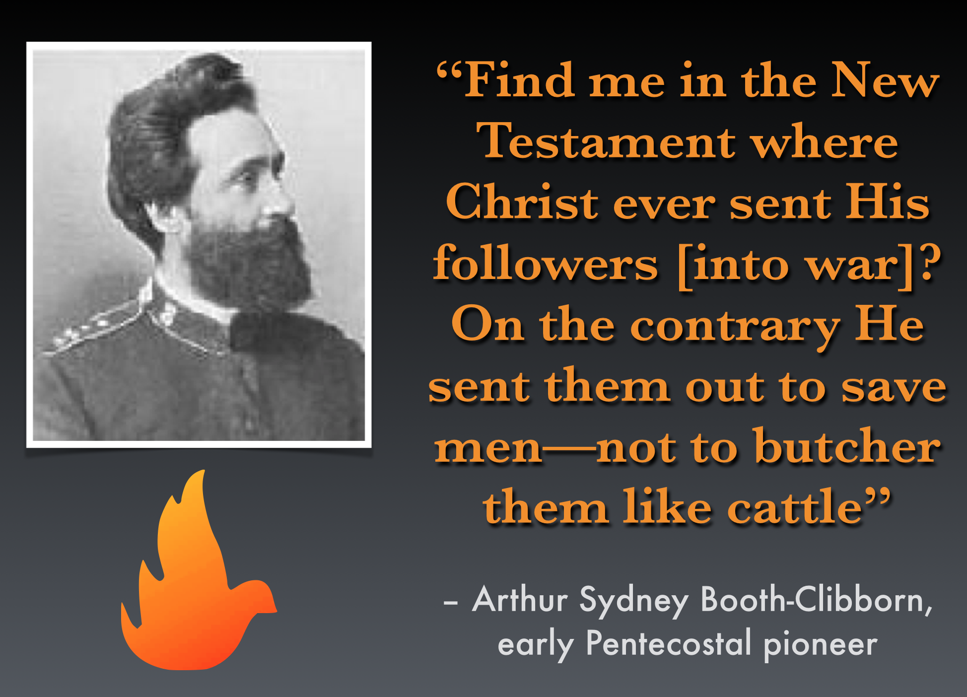 The Pentecostal Pacifism of Arthur Booth-Clibborn