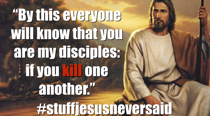Should Christians Kill Each Other?