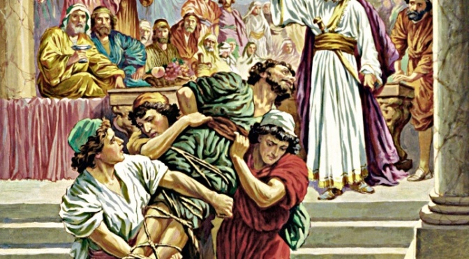 Why Did Jesus Tell Violent Parables?
