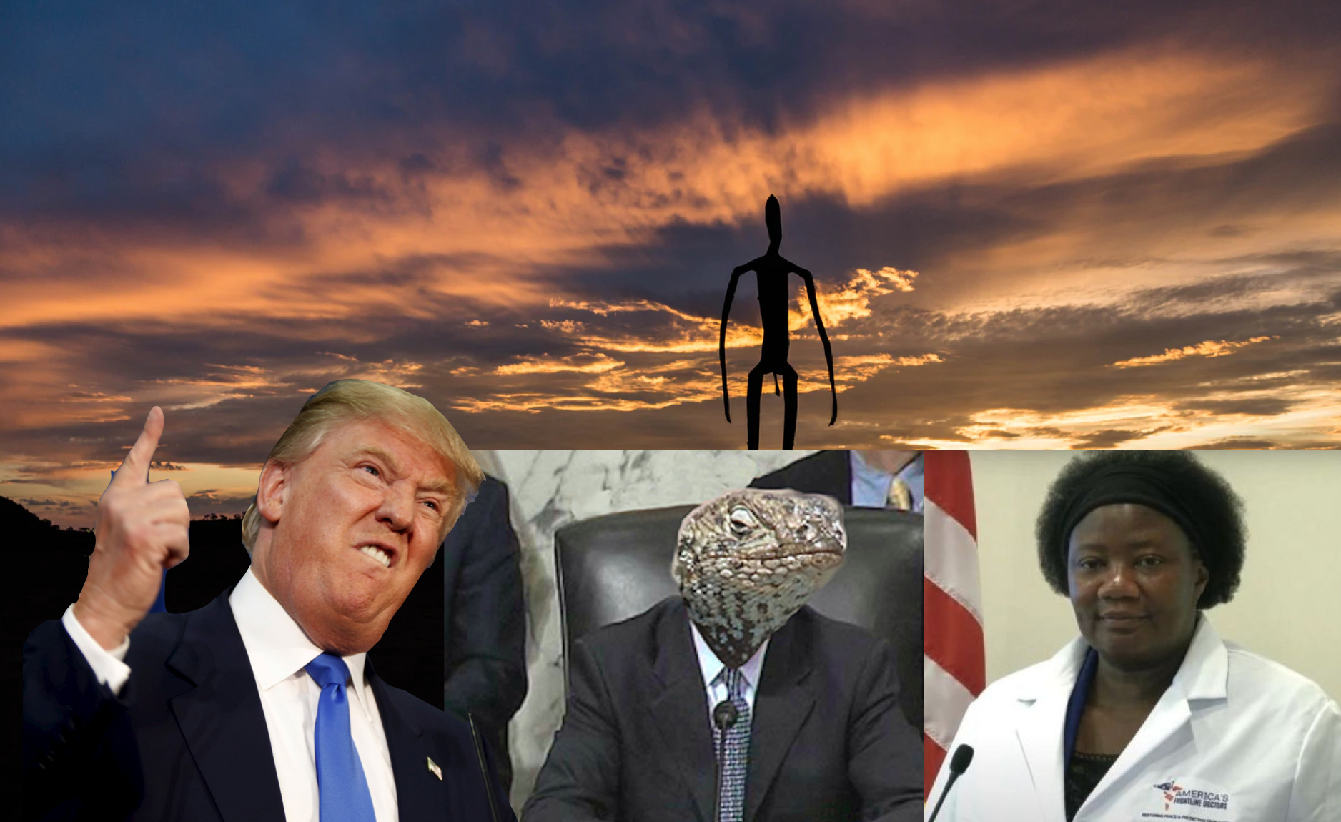 Trump Promotes Pentecostal Doctor Who Warns for Alien DNA, Demon Sex and Reptilian Politicians