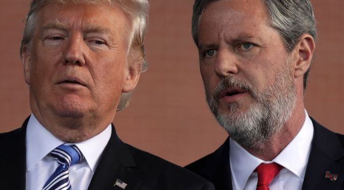 Evangelical Hypocrisy extends far beyond Jerry Falwell Jr.